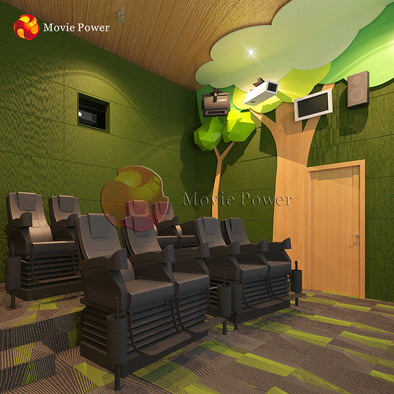 Forest Theme Interactive Motion 4D Movie Theater